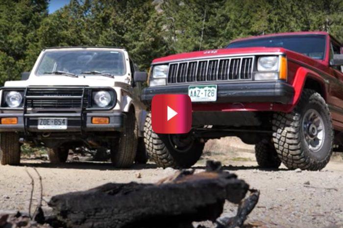 Jeep Comanche and Suzuki Samurai Face Off in the Ultimate '80s Off-Roading Battle