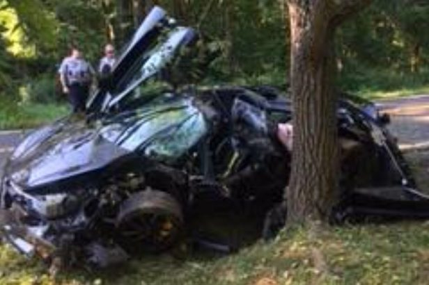 $300,000 McLaren Gets Destroyed in High-Speed Crash