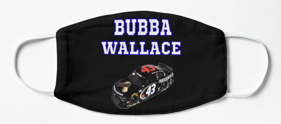 Bubba Wallace Slim Fit T-Shirt Mask