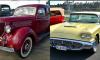 1936 Ford sedan, 1960 Ford Thunderbird