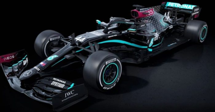 Mercedes F1 Team Switches to All-Black Cars in Stand Against Racism