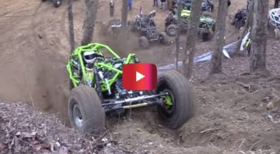 atv conquers unclimable hill