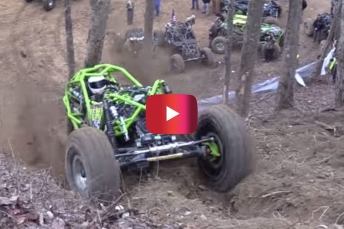 "ATV Conquers ""Unclimbable Hill"""
