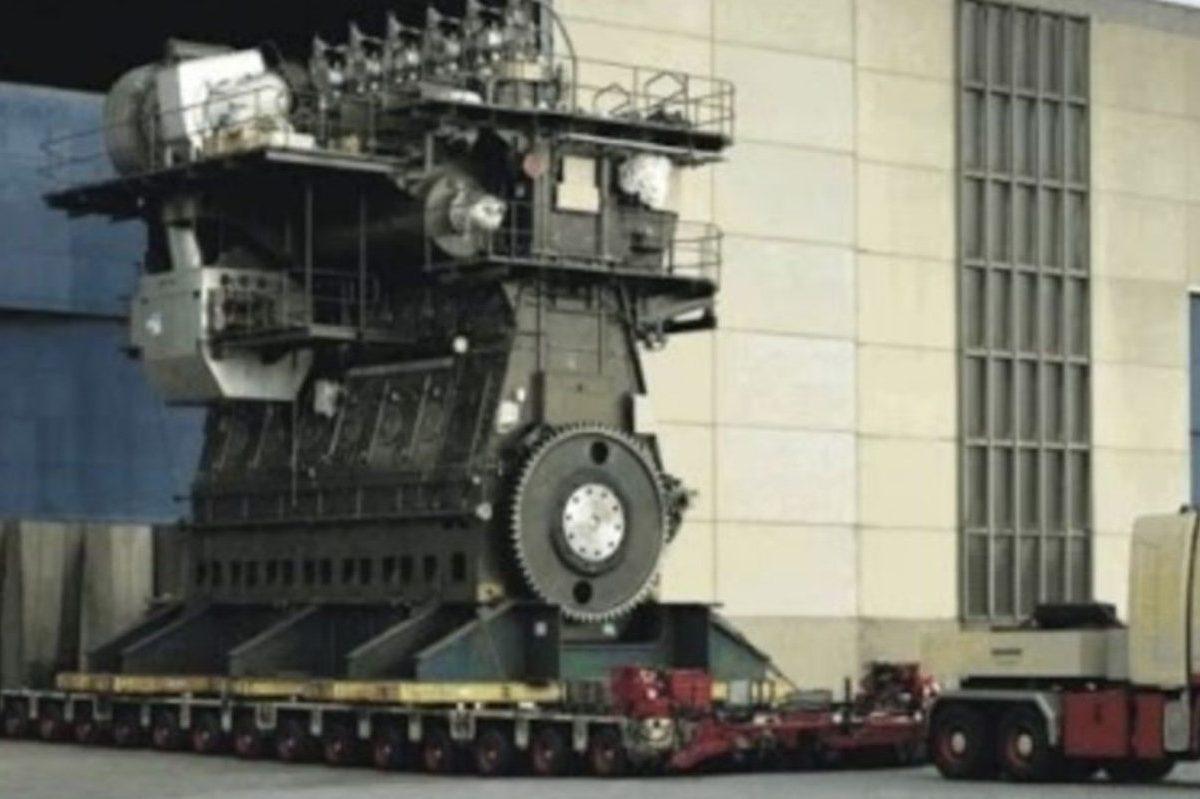 biggest diesel engine