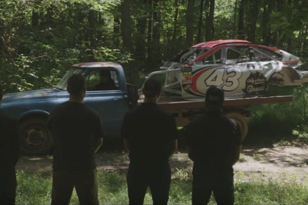Bubba Wallace Goes to Dale Jr.'s NASCAR Graveyard for a Final Goodbye