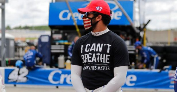 NASCAR Supports George Floyd Protests Before Atlanta Race