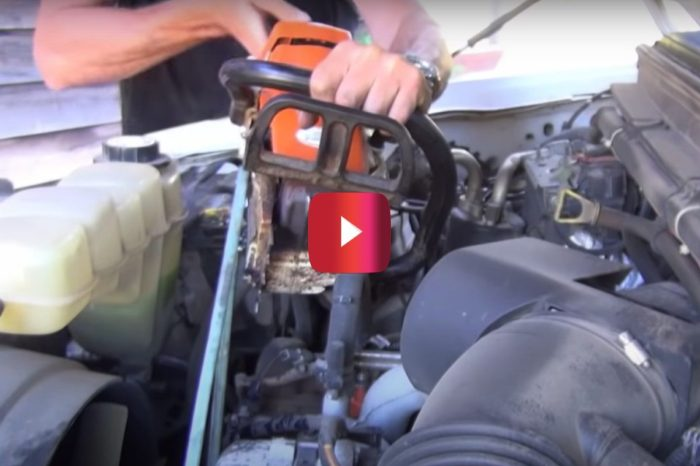 How to Use a Chainsaw to Charge Your Car Battery in a Pinch
