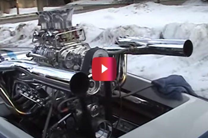 Drag Boat Motor Sounds Like an Absolute Beast