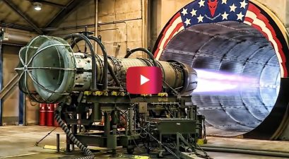 f-16 jet engine test