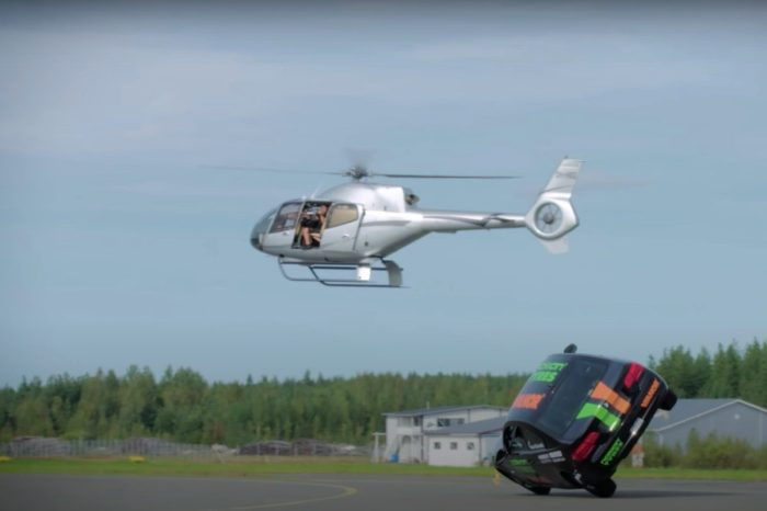 Stunt Driver Hits 115 MPH for World's Fastest Side Wheelie