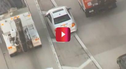 florida driver speeds on shoulder