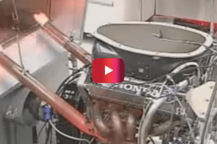Honda F1 Engine Revs to 20,000 RPM
