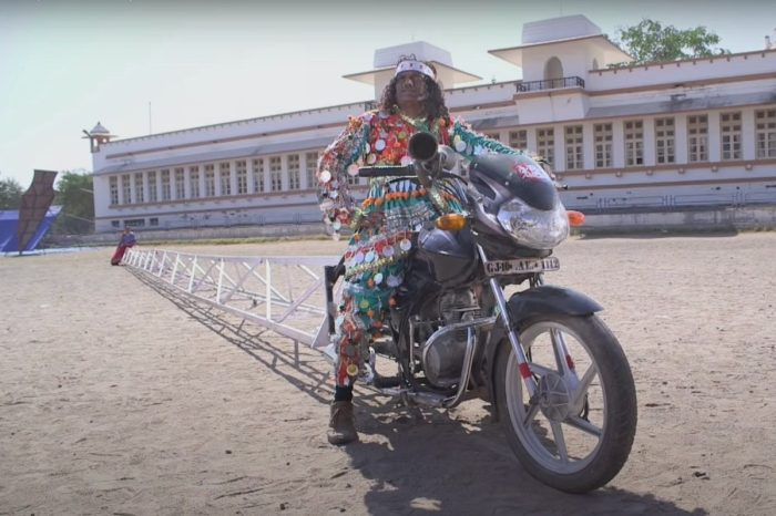 The World's Longest Motorcycle Looks Like a Pain to Ride