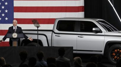mike pence electric pickup truck