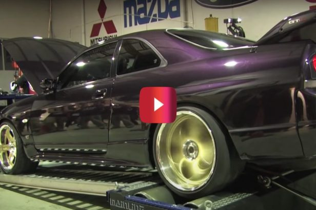 Nissan GT-R Sounds Oh So Sweet During Epic Dyno Run