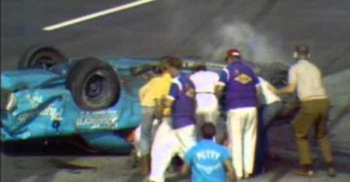 Richard Petty Survives Extreme 1970 Darlington Wreck