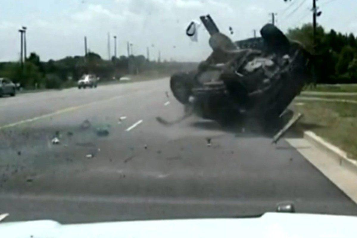 south carolina police chase crash