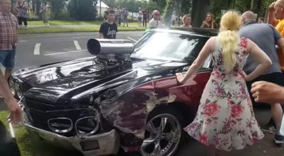 supercharged chevelle wreck