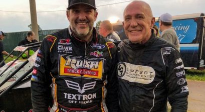 tony stewart and dad