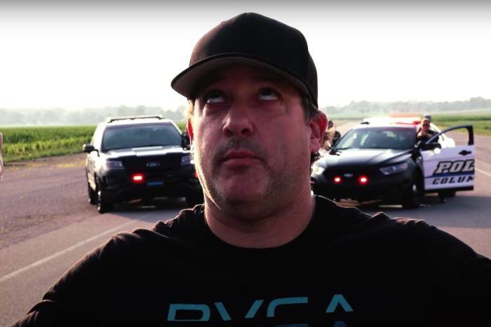 Tony Stewart Lip Syncs With Indiana Cops for Viral Video Challenge
