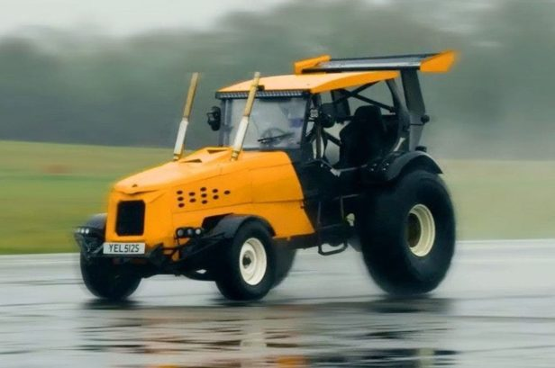 This Tractor Designed by Matt LeBlanc Boasts a Beastly Chevy V8 and a Top Speed of 90 MPH