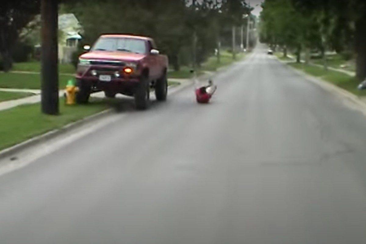 truck surfing crash