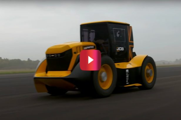 Turbocharged Tractor Hits 135 MPH and Beats Its Own World Record