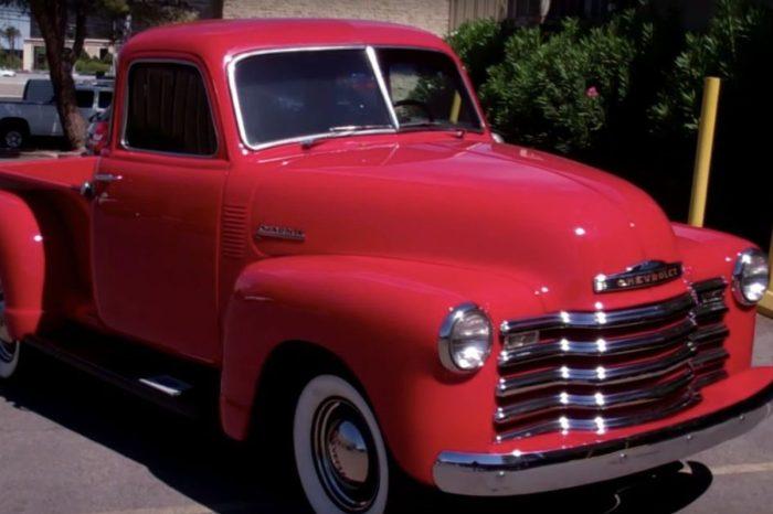 Rebuilt '47 Chevy Truck Belongs in a Museum