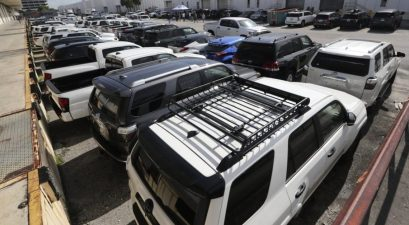 81 cars seized by homeland security