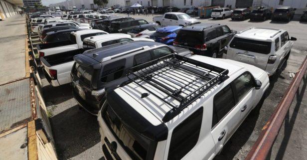 U.S. Feds Seize 81 Vehicles in Venezuela Smuggling Ring
