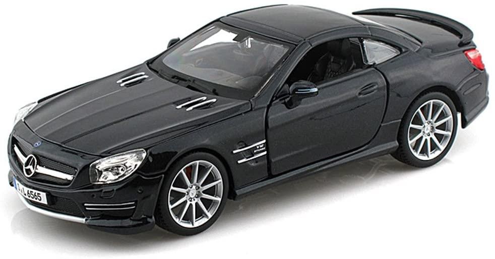 Bburago Mercedes-Benz SL65 AMG, Black 21066 - 1/24 scale Diecast Model Toy Car