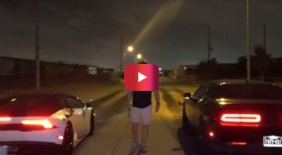 Dodge Hellcat vs. Lamborghini Huracan