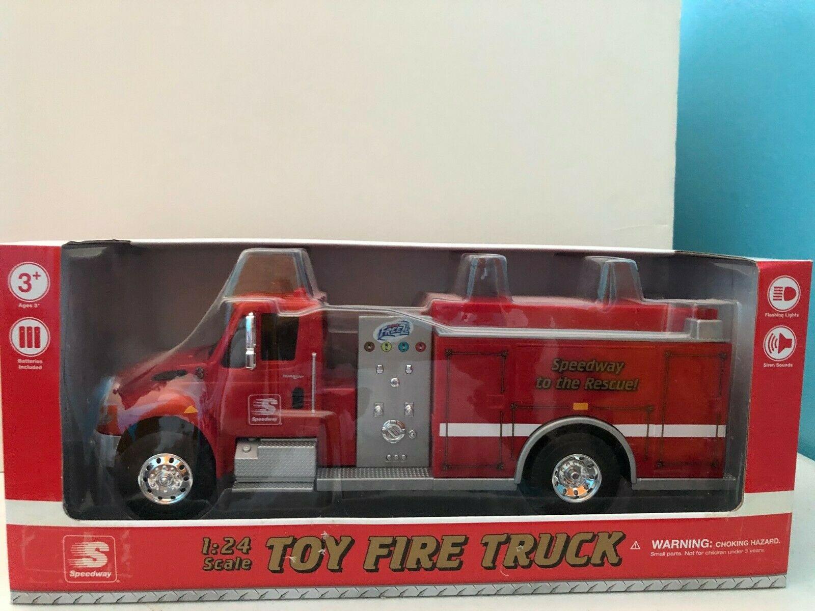 First Gear Die-Cast Speedway Fire Truck NRFB 1:24 Scale