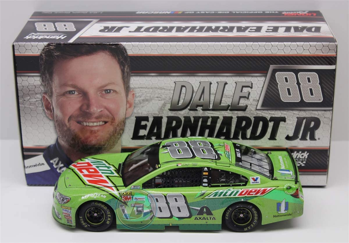 Lionel Racing Dale Earnhardt Jr 2017 Mountain Dew Ride with Dale Raced Version 1:24