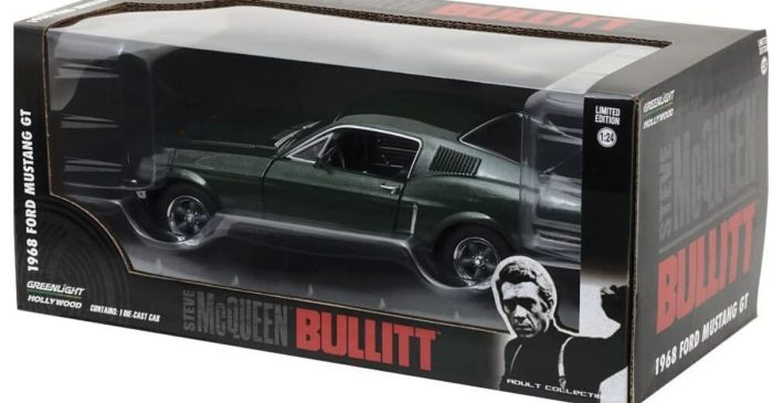The 1968 'Bullitt' Mustang Needs to Be in Every Diecast Car Collection