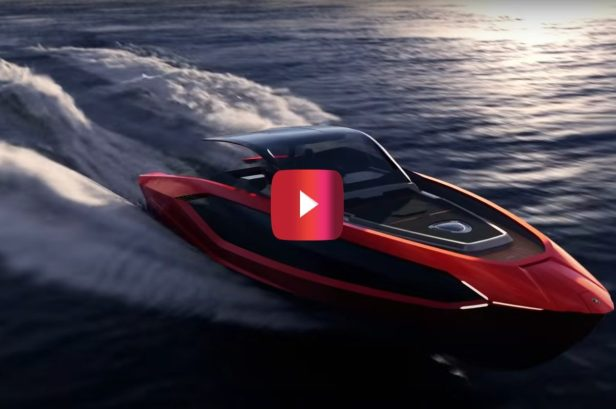 $3M Lambo Yacht Pumps Out 4,000 Horsepower and Has 70 MPH Top Speed
