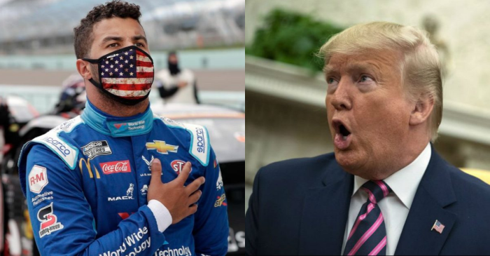 "Donald Trump Rips Bubba Wallace for ""Hoax"" Noose Incident"