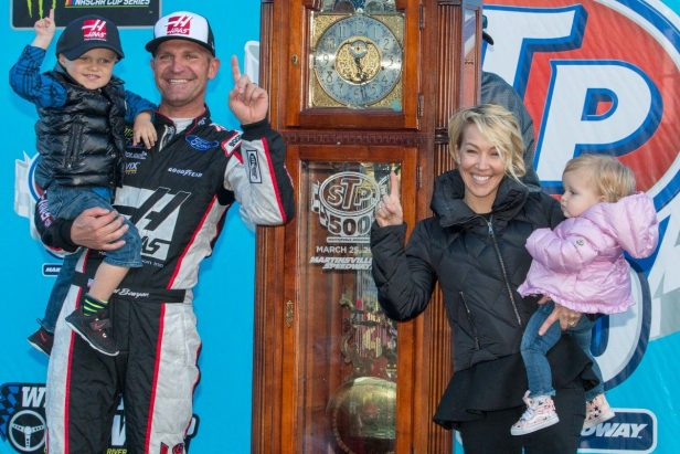 Clint Bowyer's Wife Lorra Balances Family and the NASCAR Lifestyle Like a Pro