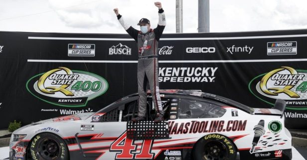 NASCAR Cup Series Rookie Cole Custer Shocks in Kentucky Upset