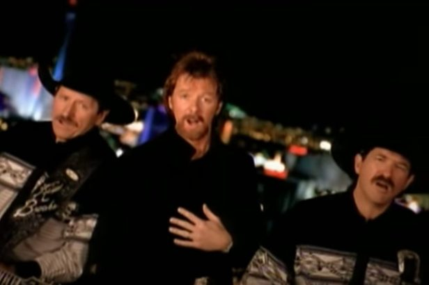 """Dale Earnhardt Has a Blast in Brooks and Dunn's """"Honky Tonk Truth"""" Music Video"""