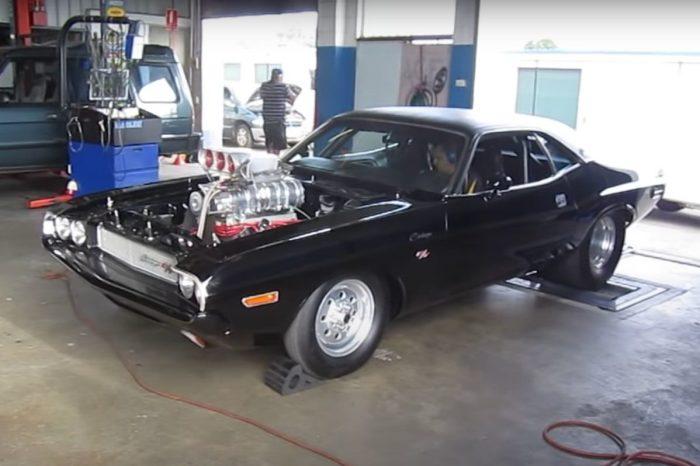 '70 Dodge Challenger Hits 1,600 Horsepower on Dyno