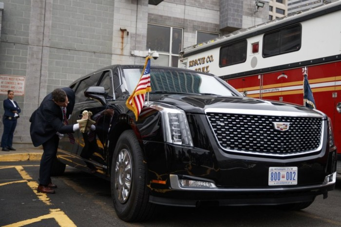Donald Trump's $1.5M Limo Is Chock-Full of Gadgets and Security Features