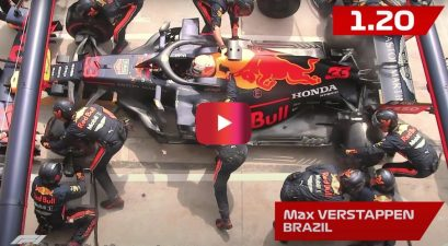 fastest f1 pit stop