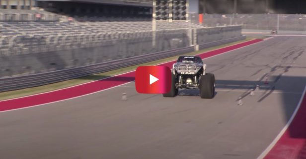 World's Fastest Monster Truck Goes 99 MPH