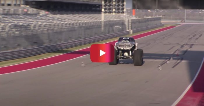 World's Fastest Monster Truck Goes 99 MPH