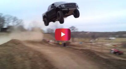 ford raptor jump