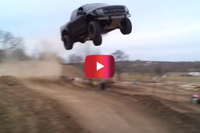 Texas Man Becomes Legend With Ford Raptor Jump