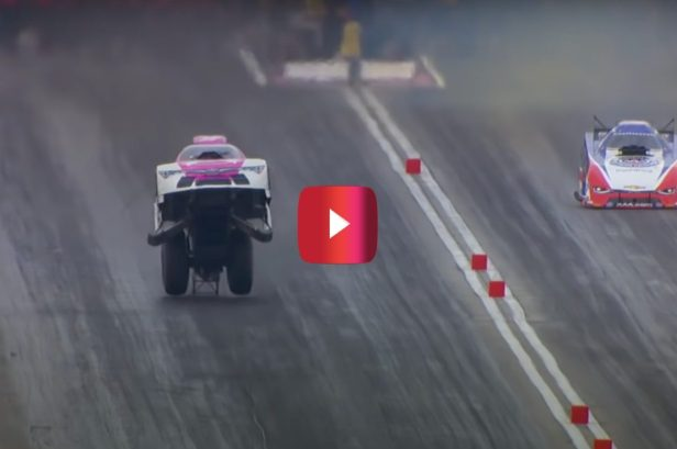 Funny Car Nearly Takes Flight During 270 MPH Run