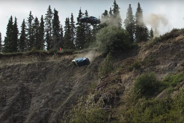 One Small Town in Alaska Launches Cars Off Cliffs for July 4th
