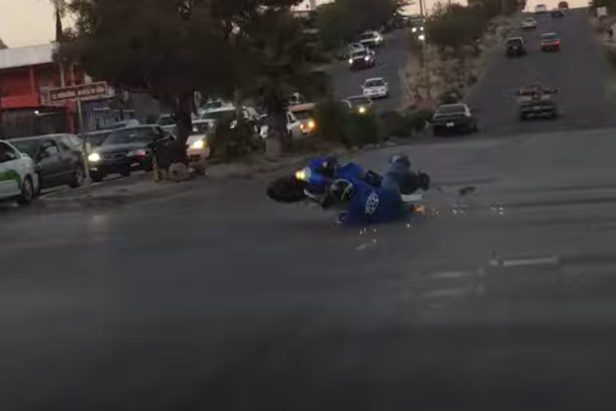 Biker's Attempt to Impress Everyone Ends in a Whole Lot of Hurt